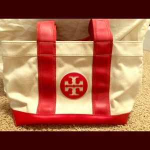 Tory Burch small canvas tote